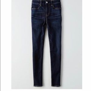 Never worn - AE skinny jeans